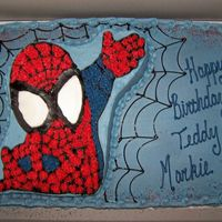 Spiderman Birthday Cake For my nephews. =) I can't wait to see their faces!