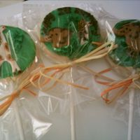Baby's 1St Birthday-Jungle Theme  These were for a 1st birthday with a jungle theme. Cookies artists you have my respect, these are too much work. Sugar cookies with glaze,...