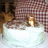 Mouse On A Cake