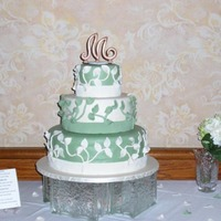 Maccallum Wedding Cake These kids were the some of the best clients I've ever had. They were very cordial, knew what they wanted and I really liked them a...