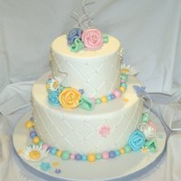 Whimsy! This is my favorite cake I have done.I have to give full props to Andrea Sullivan of Andreas Sweetcakes for the design,i hope to be as good...