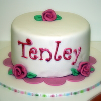 Tenleys Cake Made this for my daughter.Thanks to md2412 for inspiration,wish mine looked like hers!