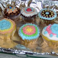 Cupcakes From My Icing Fun Kids' Class I am teaching a cake decorating class this week as part of the summer program at my local community college. These were decorated by my...