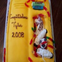 High School Locker This is the first fondant cake I have done. I would appreciate any comments... and advice on what could be made better next time.