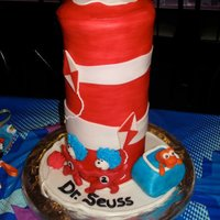 The Wubbulous World Of Dr. Seuss I was so excited to do this cake! I love the whimsy of Dr. Seuss. The cake was supported by a wooden dowel which was screwed into the...