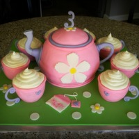 Sprinkle Tea Is Served I've always wanted to do a little tea set and I finally got my chance! It was for a friend of mine's little girl. She had seen a...