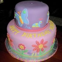 Fun To Be One A fun little cake I did for a client's granddaughter. I really enjoyed making this one!