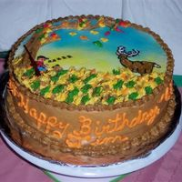 Deer Hunter's Birthday