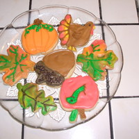Fall Cookies Fall themed cookies. Thank you CC'rs for your wonderful inspiration.
