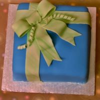Course 3 Gift Box Cake First ever attempt at fondant. It was a complete disaster! All of you make fondant look so perfect and easy to do. Man, you are amazing. I...