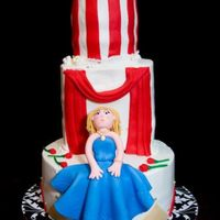 Chatty Leah's Drama Queen Cake It was my girlfriend's birthday who loves theatre. She produces, choreographs and directs musicals for a local middle school. And she...