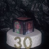 Rubiks Cube Cake This is the cake i have done for my birthday its not yet im just gettingan idea of what to do i dont know if this is it or not what do you...