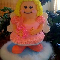 Fairy Godmother Cake Not your usual grandmother's birthday cake! However, I've had a fairy godmother/angel watching over me this year--so it's a...