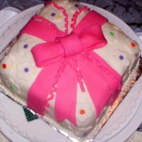 Bow bow cake