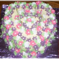 Drop Flowers drop flowers birthday cake