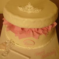 Victoria's Princess Hat Box Cake