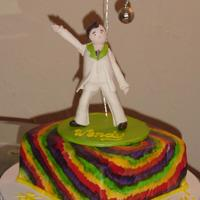 Wendy's Saturday Night Fever Cake