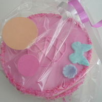 Matching Cookies For Ballerina Cake