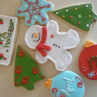 Christmas 09   vanilla/almond sugar cookies- i loved making these (and i did more for our cookie exchange) thanks for looking!