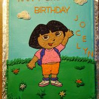 Another Dora!   All buttercream