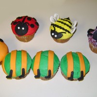 Bug Cupcakes! MMF and buttercream, thanks for looking!
