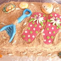 Flip Flop Here is our take on the flip flop theme; it was for my niece, Charley, who was turning 3. We wanted it to be girlie, but definitely...