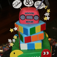 80's Theme Cake If you remember the 80's you'll like this one