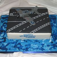 Sbd Dauntless This cake was made for a boy who wanted a cake based on the SBD Dauntless which was a WWII bomber. I shaped the cake like part of an...