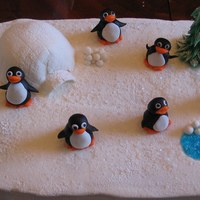 Penguins My 6 year old daughter helped make this cake last year. We made it last minute, so it could have been a lot better, but we did have a lot...