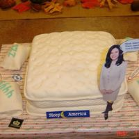 Mattress With Pillows And Spokesperson