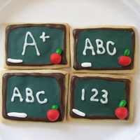 Teacher Cookies   Nfsc with Tobas glaze. Thanks to the galleries for all the inspiration!