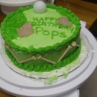 Golf Birthday I got the idea from a bunch of different cakes on the site. Things to do different... White sand traps, maybe a flag.