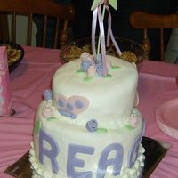 """reagan 1St"" This is my 2nd Topsy Turvy cake. This time with fondant. The first will never see the light of day again! I learned that I should try and..."