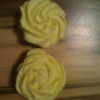 Yellow One is swirled in and the other is out. Just wanted to see how they would look
