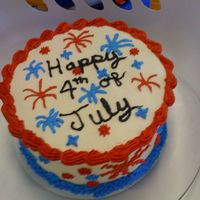 Happy 4Th Of July Basic Buttercream icing
