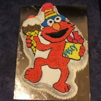 Elmo   This was a wilton tin turned out really well