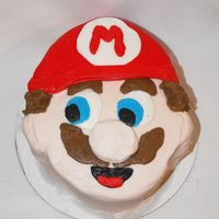 It's A Me, Mario! My 5 year old loves mario. Not as good as I hoped as I am moving and had packed most of my cake stuff (went an bought a few tips, colors...