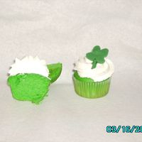 St. Patrick's Day These were for my son's pre-k St. Patty's Day celebration. Mini-cuppies - I love the way the green turned out!