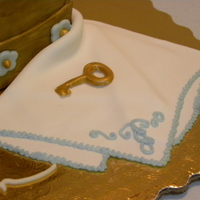 80Th Birthday Musical Jewelry Box Cake