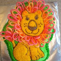 The Great Lion Cake