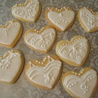 Bridal Shower Cookies Sugar cookies/ antonia74 royal icing. For a nieces bridal shower as a treat for shower guests to take home. Thanks for all the ideas from...