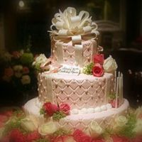 Marcie_Norwoods_80Th_Birthday.jpg I made this cake for my mother in law's 80th birthday celebration.