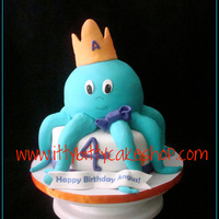 Blue Ocotpus This is such a popular cake!
