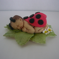 Little Lady Bug, Baby Bunny, Little Angel I got this mold at firstimpressionsmolds.com. I dusted the baby with petal dust. The baby is a 50/50 mix of fondant and gum-paste. I have a...