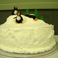 Penguin Cake I made this cake for my third grade class after we read Mr. Popper's Penguins. This was my birthday cake for Jan. birthdays....