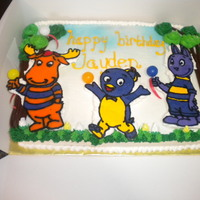 Backyardigans backyardigans birthday cake