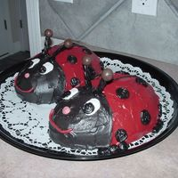 2 Little Ladies Lady Bugs Guests all left with Black tounges ewwww! ; )