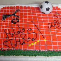 "Soccer ""all Star"" Teams Cake"