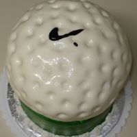 """nike"" Golf Ball B-Day"