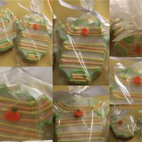 Halloween Baby Shower Cookies I made these cookies for a halloween themed baby shower.